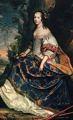ca. 1660 Claire Clémence de Maillé by Charles Beaubrun (location unknown to gogm)