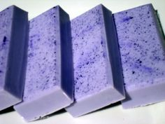 Lavender Soap - Purple Soap with Shea Butter - Homemade Soap - Pretty Soap - Bar Soap  by HoookedSoap, $5.00