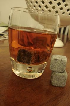 Stone ICE CUBES (can be for cold or hot drinks!) LOVE this! So fun! My hubs love to use for his coca cola/energy drinks!