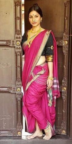 Sujata Boutique Shahi Mastani Nauvari Saree Ready To Wear, professionally Designed By Sujata Boutique