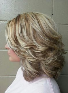 Layers can add texture to your shorter hairstyles that would otherwise lay flat.