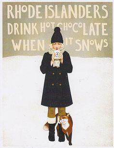 sin título by loretoidas on Flickr. When it snows…