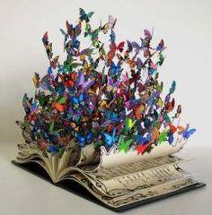 Livre papillon.