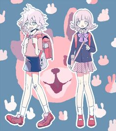 Nagito Komaeda & Chiaki Nanami   Super Danganronpa 2