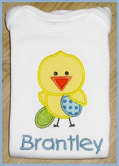 Easter Chick GIRL Easter Chick BOY Easter by SouthernBelleBows, $24.00