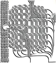 Pablo Siquier, 9808, 1998 Black And White Canvas, Geometry Art, Contemporary Artists, Smoothie, Art Gallery, Abstract, Geometric Art, Summary, Art Museum