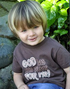 God Has Big Plans For Me - Christian Toddlers Shirts for $15.95 | C28.com