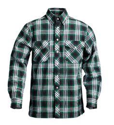 Klicka för större bild - T&P Fodrad Flanellskjorta