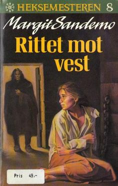 """Rittet mot vest"" av Margit Sandemo Fantasy Romance, Nostalgia, Vest, Reading, Books, Libros, Book, Reading Books, Book Illustrations"