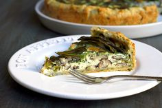 Two of a Kind | Ramp and Mushroom Quiche | http://www.twoofakindcooks.com