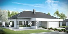 Buscá imágenes de diseños de Casas estilo moderno de HomeKONCEPT | Projekty Domów Nowoczesnych. Encontrá las mejores fotos para inspirarte y creá tu hogar perfecto.