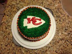 KC Chiefs cake