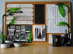 A modern and polished desk with teen vibes!!