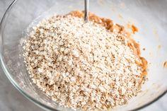 Zdrowe batony bananowo-orzechowe (4 składniki) - Wilkuchnia Sugar, Food, Essen, Meals, Yemek, Eten