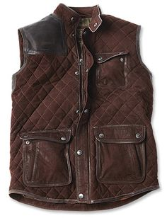 Barbour vest from Orvis
