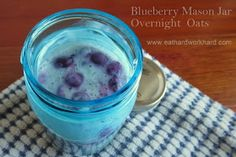 Eat Hard Work Hard: Meal Prep Monday - Blueberry Overnight Oats and Baked Tofu