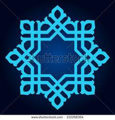 Abstract design of Persian- Islamic-Turkish-Arabic vector… Round Pattern Mandala. Abstract design of Persian- Islamic-Turkish-Arabic vector circle floral. Islamic Art Pattern, Arabic Pattern, Pattern Sketch, Pattern Art, Mandala Pattern, Motifs Islamiques, Art Decor, Decoration, Turkish Pattern