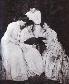 Irene, Alix, Ella, and Victoria