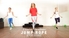 Fitness Sessions: Jump Rope Workout Good begginers workout and the hostess it's very funny