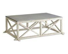 Zinc Topped Coffee Table