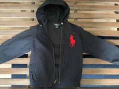 2a64cd6fce4a Brand New Polo Ralph Lauren Boys Jacket Size 8 with hood perfect for any  season