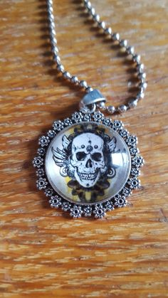 Life and Death Necklace by AwesomeOddities on Etsy