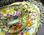 Shelley c1945-1966 Chintz Tea Cup Teacup and Saucer
