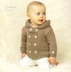 Baby / Childrens Vintage Duffle in Sublime Baby Cashmere Merino Silk Dk