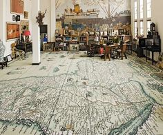 because I need a map floor!