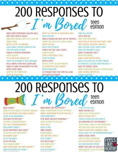 list of things to do when bored at home & list of things to do when bored , list of things to do when bored at home , list of things to do when bored kids Things To Do At A Sleepover, Things To Do At Home, Things To Do Alone, Fun Things, Simple Things, Fun Stuff To Do At Home, Teen Sleepover, Creative Things, What To Do When Bored