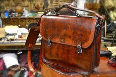 Sañudo artesania en cuir: Encargo bolsa. Diciembre 2015