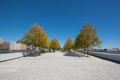 Four Freedoms Park de Louis Kahn, pelas lentes de Lorena Darquea,© Lorena Darquea