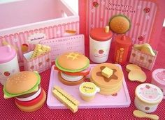 Wooden fast food toys and dessert  Like this item, please visit here for more detail and best price! even more choice there  @ nicole