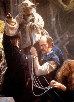 Star Wars Behind the Scenes Photos | Rare Star Wars Pictures (Page 12)