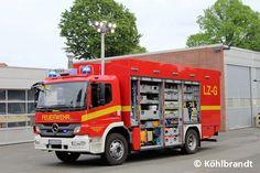 #Gerätewagen für #Feuerwehr