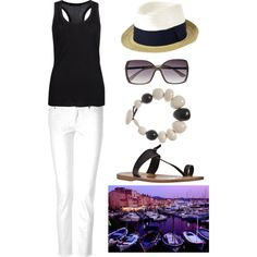 """""""St. Tropez style"""" by dauphinebeaute on Polyvore"""