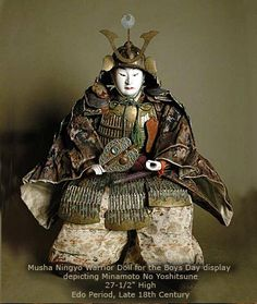 Antique Japanese Dolls - archives musha ningyo, page 1