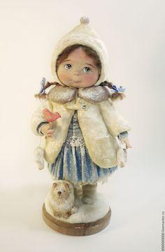 Купить Маша - авторская кукла, авторская ручная работа, куклы артюшенковой оксаны, новогодний подарок