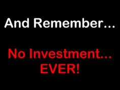 Get your FREE money making website. No Investment Ever