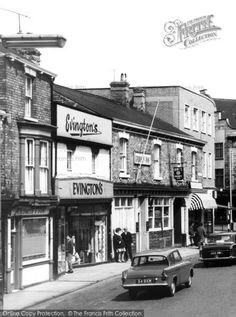 Photo of Grimsby, Bull Ring from The Francis Frith Collection Barnsley, Old Street, Old Buildings, My Heritage, Thesis, Old Town, Biking, Old Photos, Britain