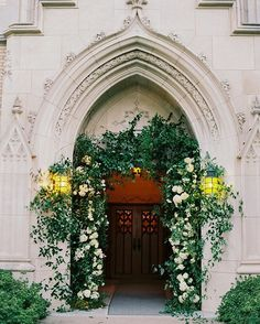 Pin for Later: These Spectacular Floral Wedding Arches Break the Mold Trailing and Overgrown