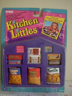 rare kitchen littles snacks Barbie Doll Accessories, Doll Clothes Barbie, Barbie Doll House, Barbie Dolls, Vintage Barbie, Vintage Toys, Barbie Food, Barbie Stuff, Barbie Playsets