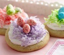 birdsnest cookies