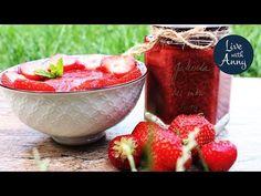 Jak na marmeládu bez chemie a cukru | Jahodová marmeláda - YouTube Watermelon, Low Carb, Make It Yourself, Fruit, Youtube, Food, Chemistry, Eten, Meals