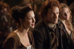 "#Outlander Season 1x03 ""The Way Out"" #ClaireRandall #ClaireBeauchamp #CaitrionaBalfe #JamieMacTavish #JamieFraser #SamHeughan #LaoghaireMacKenzie #NellHudson"