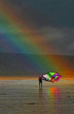 Gorgeous rainbow