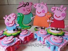 Peppa Pig e Turminha | por * * * e.v.a. é meu VÍCIO* * *