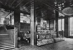 Berlin, Erdgeschoss des KdW, 1907.