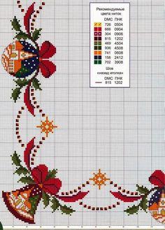 gráfico ponto cruz barrado de natal motivos natalinos                                                                                                                                                                                 Mais