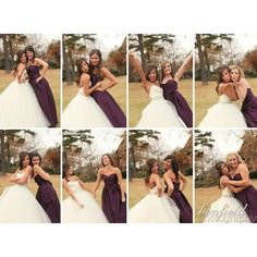 A picture with each bridesmaid! You could even write them a thank you letter :)